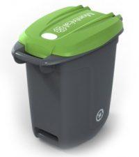 image du bac vert de 67 litres