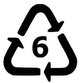le plastique numéro 6 n'est pas accepté dans la collecte du recyclage à Montréal